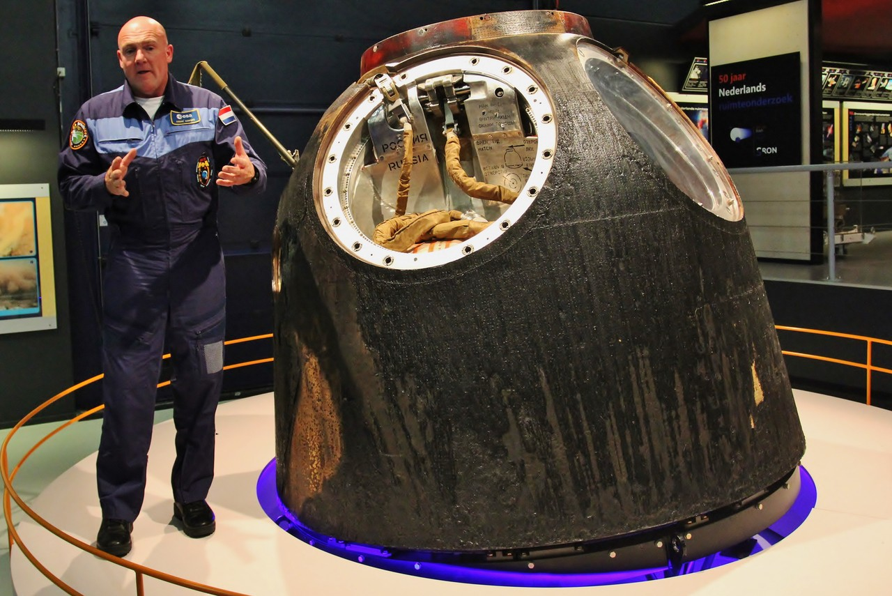 André en Soyuz