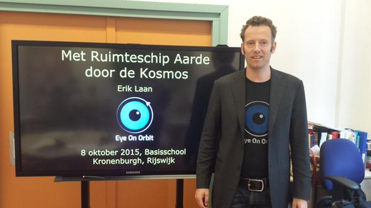 Erik Laan, oprichter van Eye on Orbit