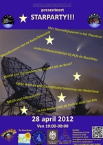 Sterrenstad - Starparty 28 April 2012